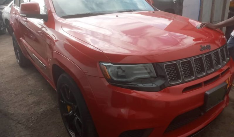 2018 JEEP GRAND CHEROKEE SUPERCHARGED TRACKHAWK full
