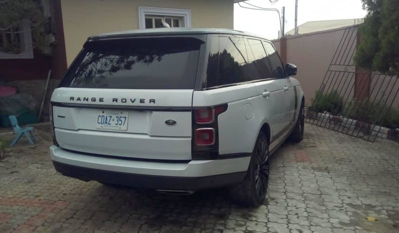 2018 Land Rover Vogue Supercharged full