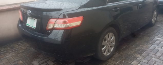 used 2008 toyota camry le black