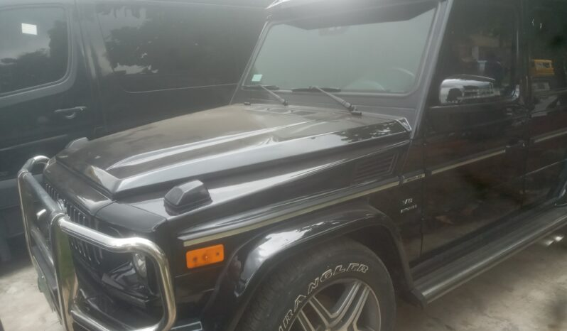 2007 Mercedes Gwagon full