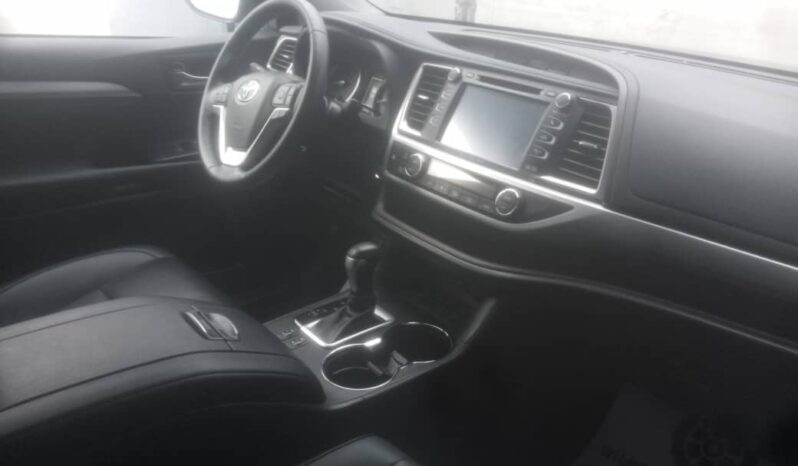 2018 Toyota highlander Limited AWD full
