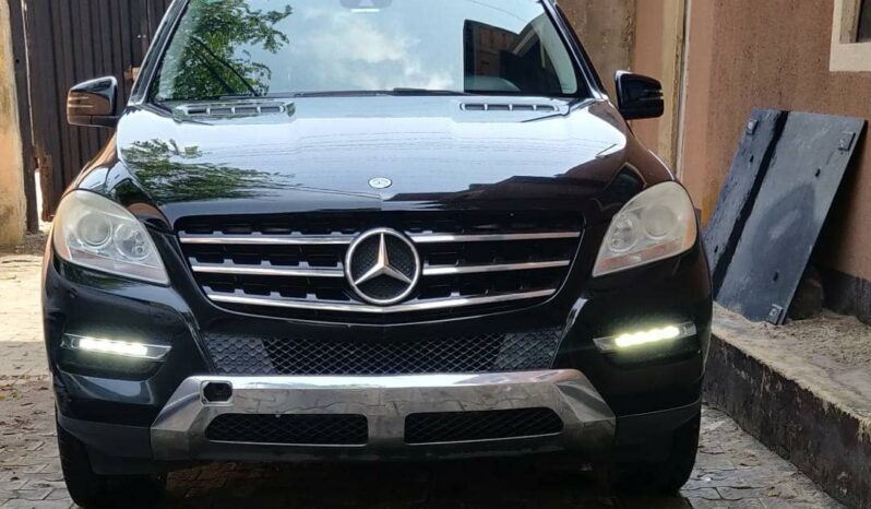 2012 Ml350 4matic full